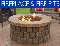 fireplace and fire pits