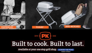 Across the Pond carries PK Grills