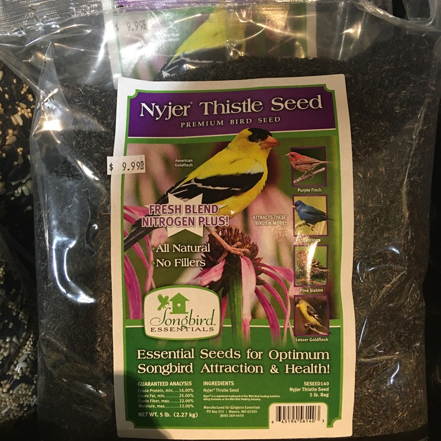 Nyjer Thistle Seed 5lb $9.99