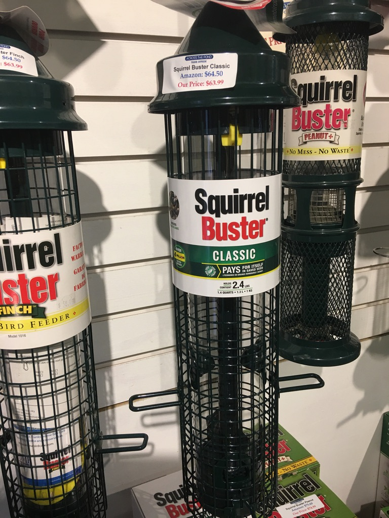 Squirrel Buster Classic $63.99 (Amazon $64.50)