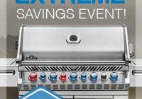 Napoleon Savings Event Graphic